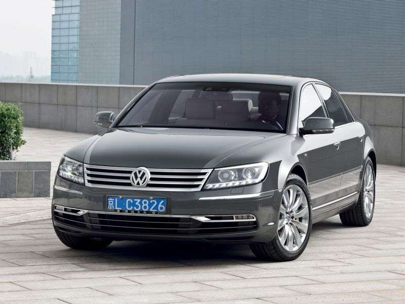 Volkswagen Phaeton 1st generation [2nd restyling] 6.0 L 4Motion AT Sedan (2010 – AD)