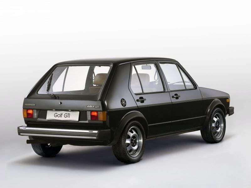 Volkswagen Golf 1st generation GTI hatchback 5 dv. 1.8 MT (1976–1983)
