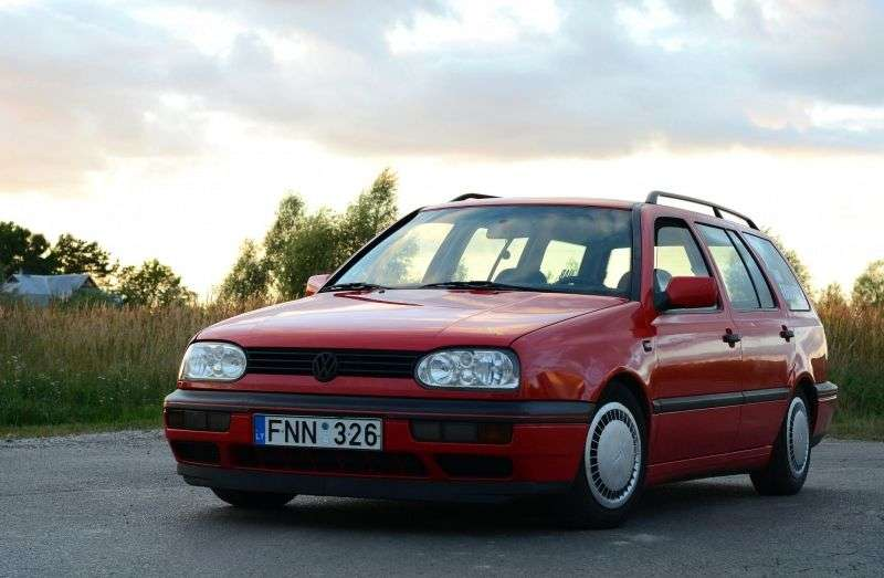 Volkswagen Golf 3 generation wagon 1.8 MT (1993–1998)