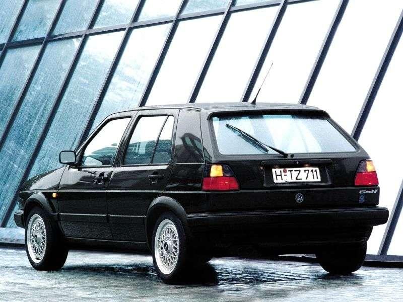 Volkswagen Golf 2 generation GTI hatchback 5 dv. 1.8 16v Kat MT (1986–1992)