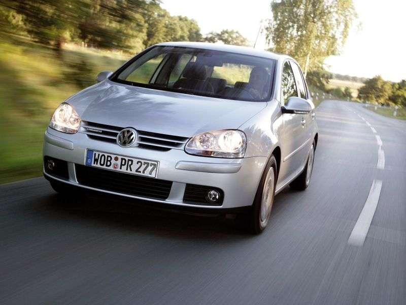 Volkswagen Golf 5 generation hatchback 5 dv. 2.0 FSI AT (2003–2008)