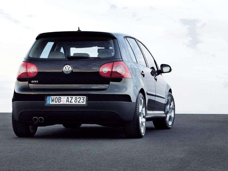 Volkswagen Golf 5th generation GTI hatchback 5 dv. 2.0 TSI MT (2004–2008)