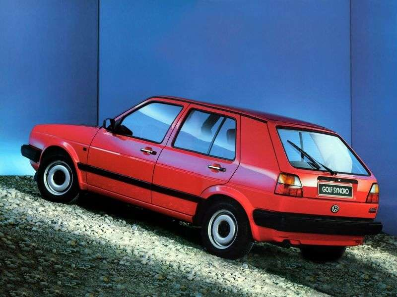 Volkswagen Golf 2 generation hatchback 5 dv. 1.6 5MT (1983–1991)