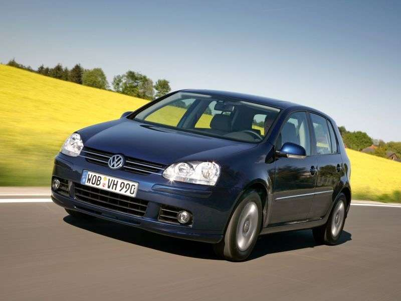 Volkswagen Golf 5 generation hatchback 5 dv. 1.6 FSI Tiptronic (2003–2007)