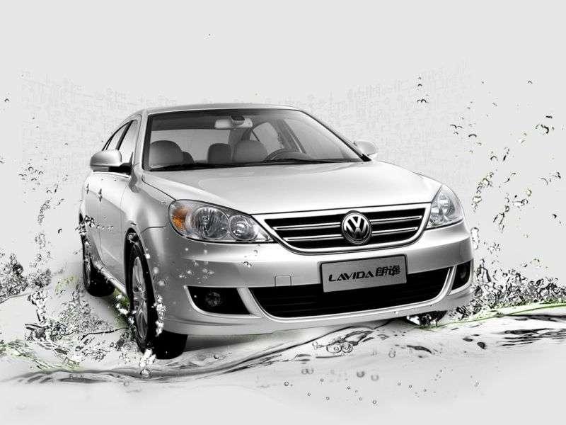 Volkswagen Lavida 1st generation sedan 1.6 MT (2008 – present)