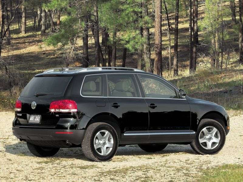 Volkswagen Touareg 1st generation crossover 3.2 Tiptronic (2002–2004)
