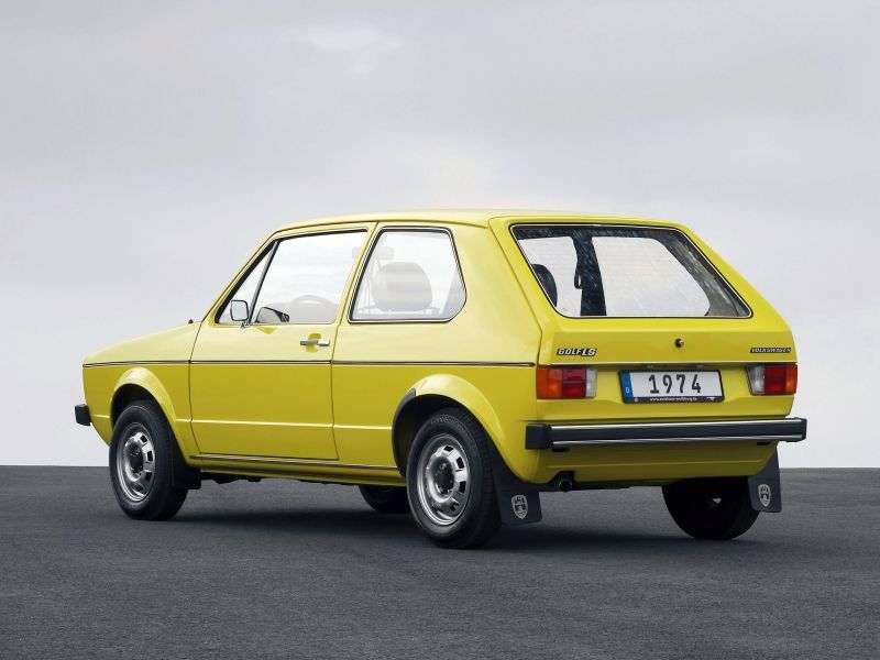 Volkswagen Golf 1st generation hatchback 3 dv. 1.6 D MT (1974–1983)