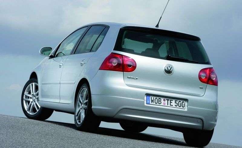 Volkswagen Golf 5th generation GT hatchback 5 dv. 1.4 TSI MT (2005–2008)