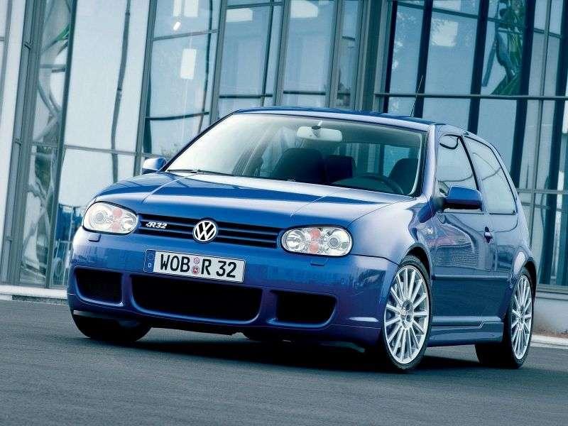 Volkswagen Golf 4th generation R32 hatchback 3 dv. 3.2 VR6 4motion MT (2002–2004)