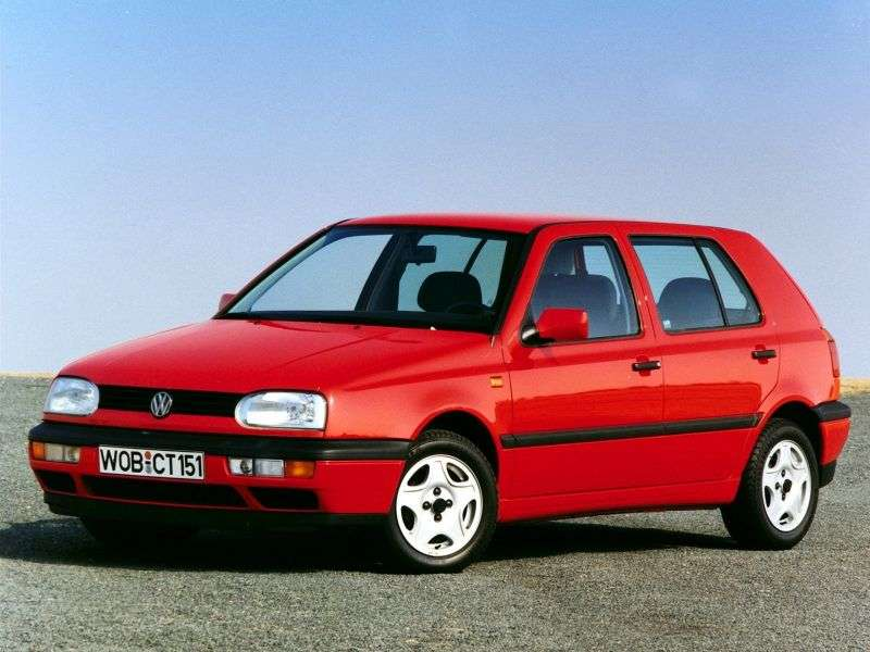 Volkswagen Golf 3 generation hatchback 5 dv. 2.0 MT (1991–1997)