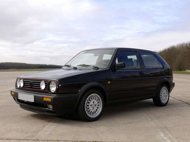 Volkswagen Golf 2 generation GTI hatchback 3 dv. 1.8 MT (1984–1992)