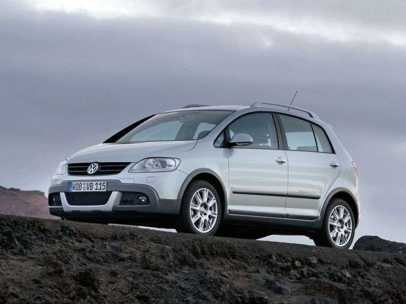 Volkswagen Golf 5th generation Cross hatchback 5 dv. 2.0 TDI DSG (2007–2009)