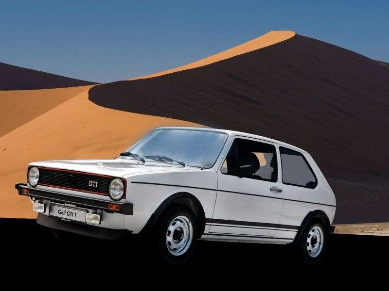 Volkswagen Golf 1st generation GTI hatchback 3 dv. 1.6 MT (1976–1983)
