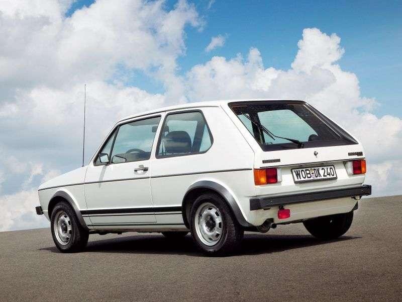 Volkswagen Golf 1st generation GTI hatchback 3 dv. 1.6 MT (1976–1983)