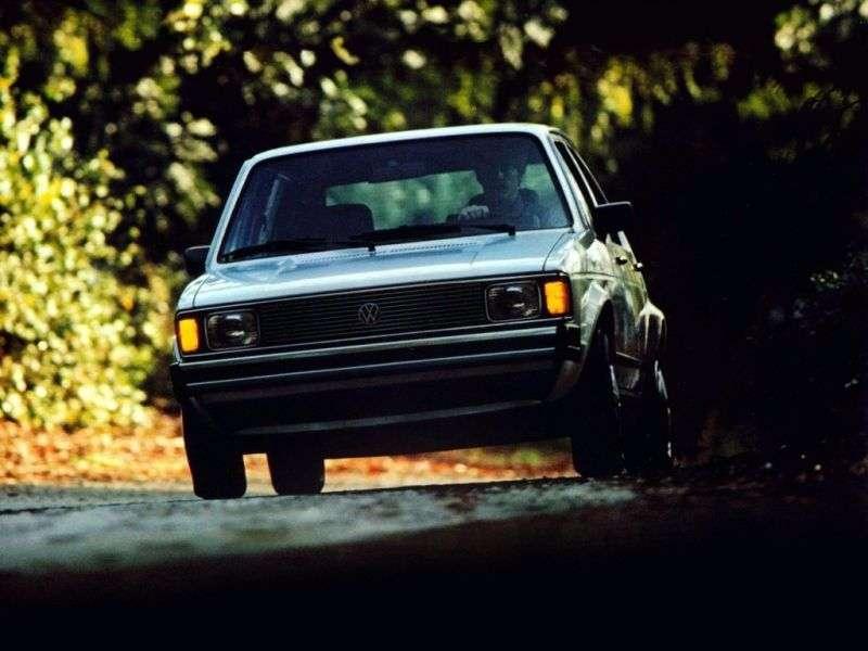 Volkswagen Rabbit 1st generation [restyling] 5 bit hatchback 1.7 AT (1981–1984)