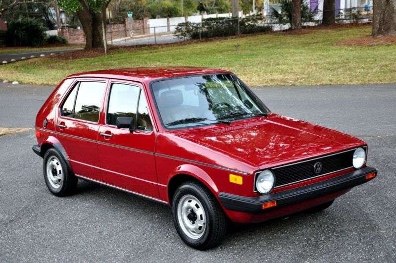 Volkswagen Rabbit 1st generation hatchback 5 dv. 1.5 MT (1975–1980)