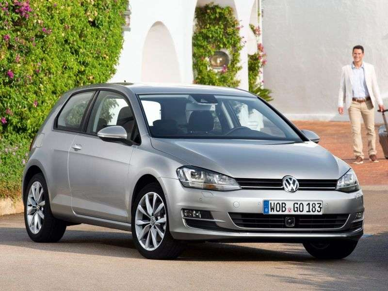 Volkswagen Golf 7 generation hatchback 3 dv. 1.2 TSI BlueMotion MT Comfortline (2012 – n.)