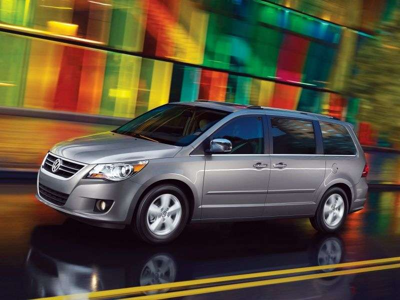 Volkswagen Routan 1st generation minivan 3.8 62TE (2008–2011)