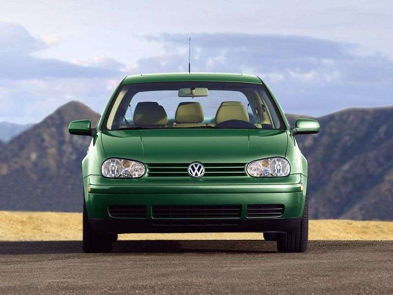 Volkswagen Golf 4 generation hatchback 3 dv. 2.0 MT (1999–2003)