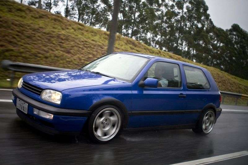 Volkswagen Golf 3 generation hatchback 3 dv. 1.9 TDI Syncro MT (1991–1997)