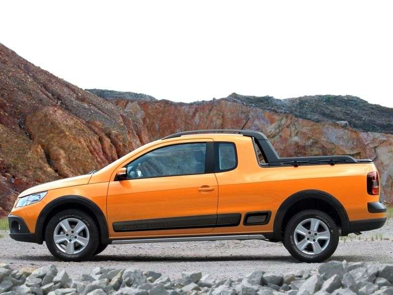 Volkswagen Saveiro 5th generation Cross pickup 2 bit. 1.6 MT (2009 – n. In.)