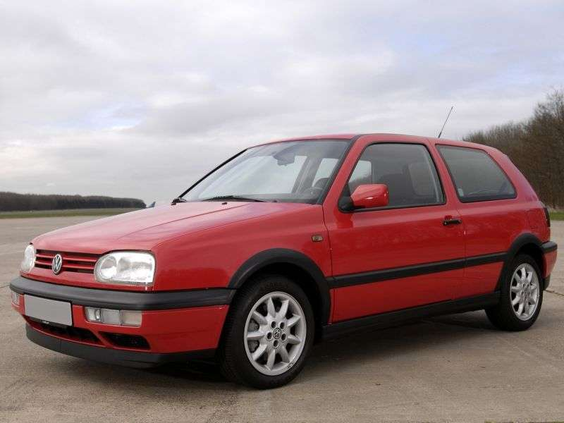 Volkswagen Golf 3 generation hatchback 3 dv. 1.6 MT (1991–1997)