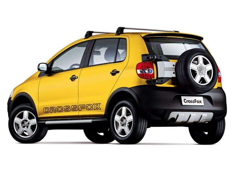 Volkswagen Fox 2nd generation Cross hatchback 5 dv. 1.6 MT (2005–2007)