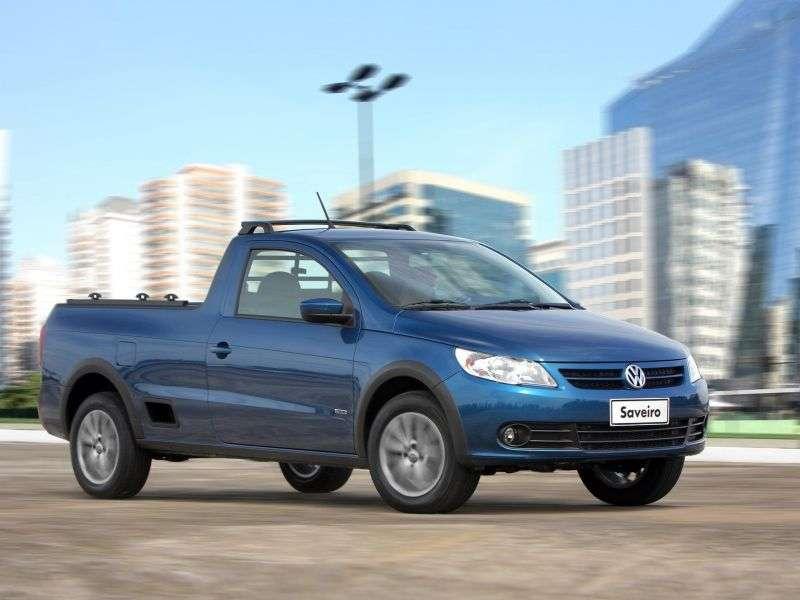Volkswagen Saveiro 5th generation pickup 2 bit. 1.6 MT (2009 – n. In.)