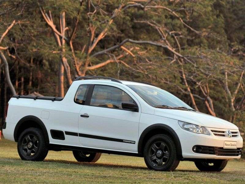 Volkswagen Saveiro 5 generation Trooper pickup 2 bit. 1.6 MT (2009 – n. In.)