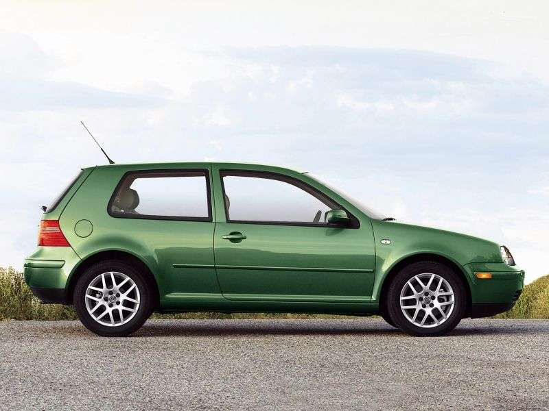 Volkswagen Golf 4 generation hatchback 3 dv. 1.9 TDI MT (2000–2003)