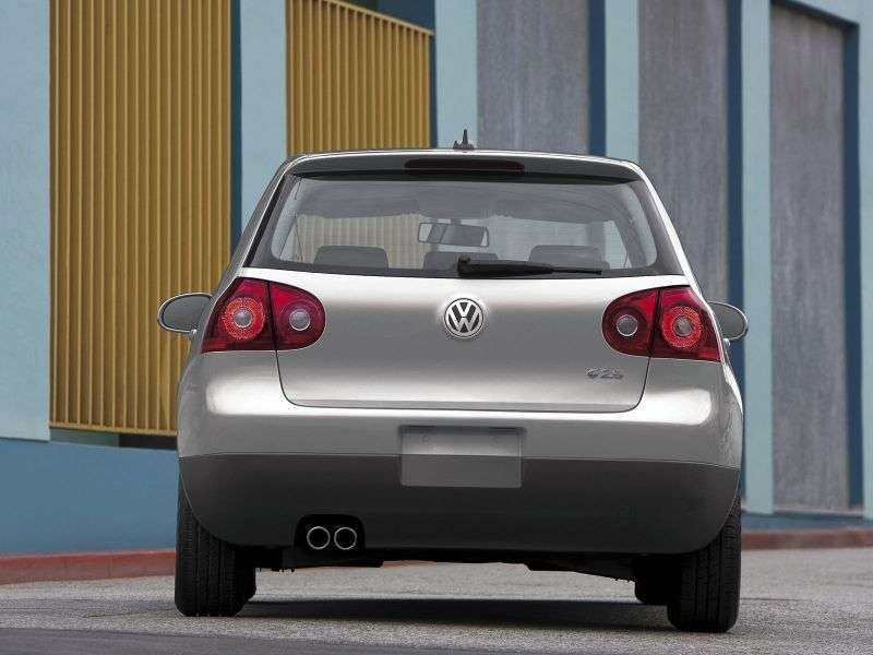 Volkswagen Rabbit 2nd generation hatchback 5 dv. 2.5 MT (2006–2009)