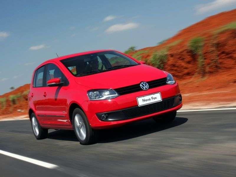 Volkswagen Fox 3 generation hatchback 5 dv. 1.6 BlueMotion MT (2009 – present)