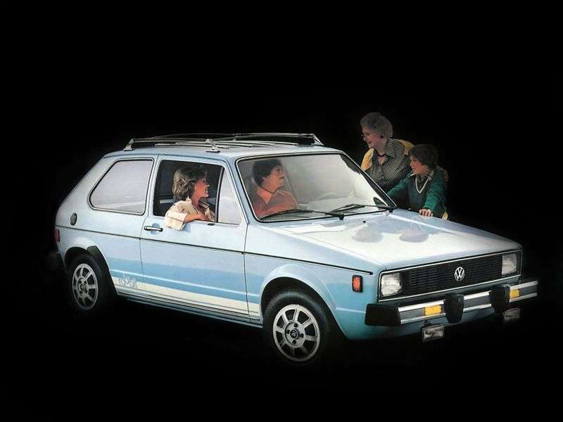 Volkswagen Rabbit 1st generation [restyling] 3 bit hatchback 1.7 MT (1981–1984)