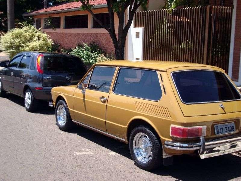 Volkswagen Brasilia 1st generation hatchback 3 dv. 1.6 MT (1973–1985)