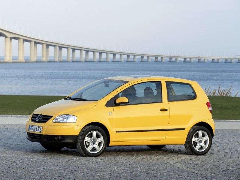 Volkswagen Fox 2nd generation [restyling] 3 bit hatchback 1.4 MT (2005–2009)