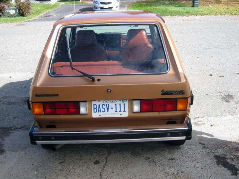 Volkswagen Rabbit 1st generation [restyling] 3 bit hatchback 1.6 D MT (1980–1984)