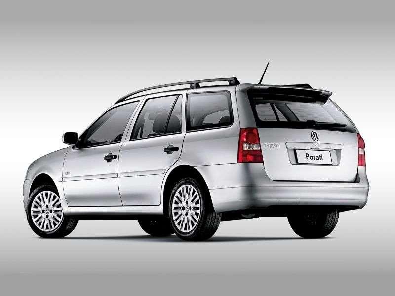 Volkswagen Parati 4th generation 1.6 MT wagon (2005–2012)
