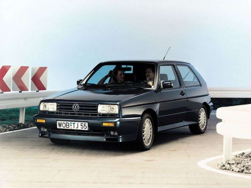Volkswagen Golf 2 generation Rallye hatchback 3 dv. 1.8 MT (1989–1991)