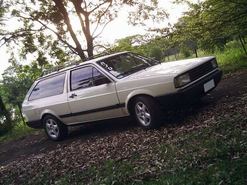 Volkswagen Parati 1st generation [restyling] 1.6 MT wagon (1987–1995)