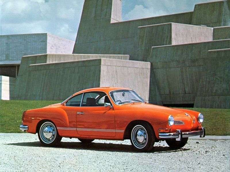 Volkswagen Karmann Ghia Type 14 [restyling] coupe 1.2 MT (1960–1965)