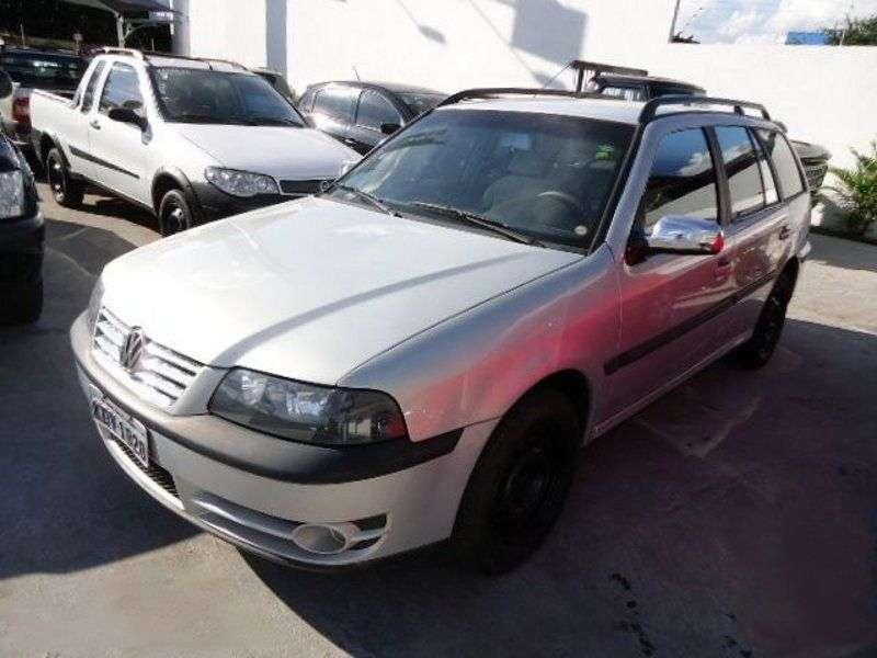 Volkswagen Parati 3 generation wagon 1.8 MT (1998–2000)