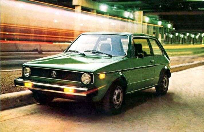 Volkswagen Rabbit 1st generation hatchback 3 dv. 1.6 AT (1977–1980)