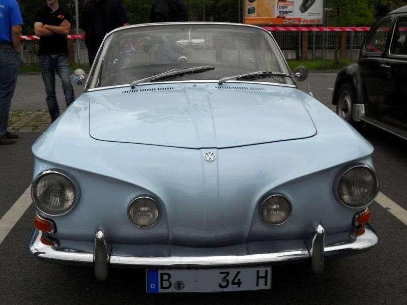 Volkswagen Karmann Ghia Type 34 Coupe 1.5 MT (1961–1962)