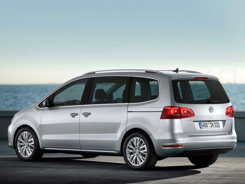 Volkswagen Sharan 2 generation minivan 5 doors. 1.4 TSI MT (2010 – n. In.)