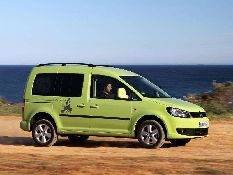 Volkswagen Caddy 3rd generation [restyling] Tramper minivan 5 dv. 1.2 TSI MT L1 Basic (5 seats) (2011 – present)
