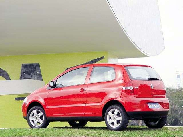 Volkswagen Fox 2 generation hatchback 1.6 MT (2003–2005)