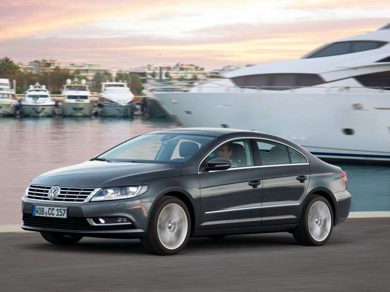 Volkswagen Passat CC 1st generation [restyling] coupe 2.0 TSI DSG Sport (2012 – n.)