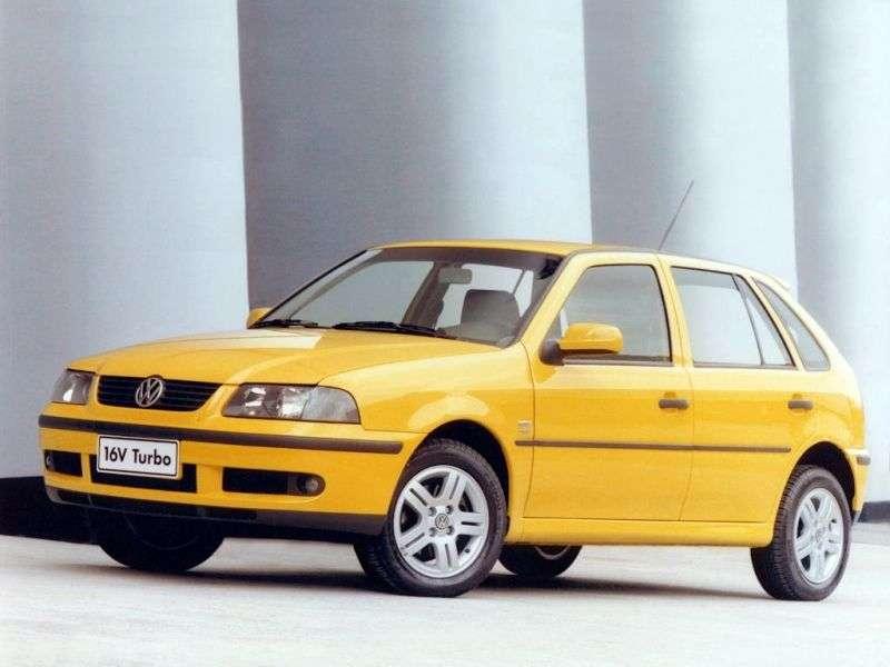 Volkswagen Gol G3hetchbek 5 dv. 1.9 D MT (2000–2005)