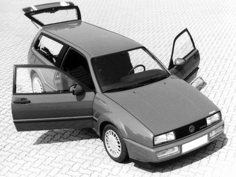 Volkswagen Corrado 1st generation Magnum wagon 1.8 G60 MT (1989–1989)
