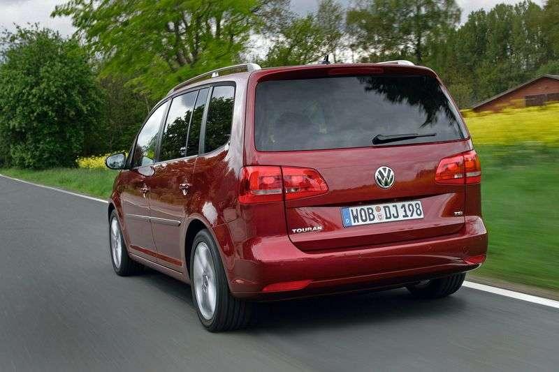 Volkswagen Touran 3rd generation 1.4 TSI MT Trendline minivan (2010 – n.)